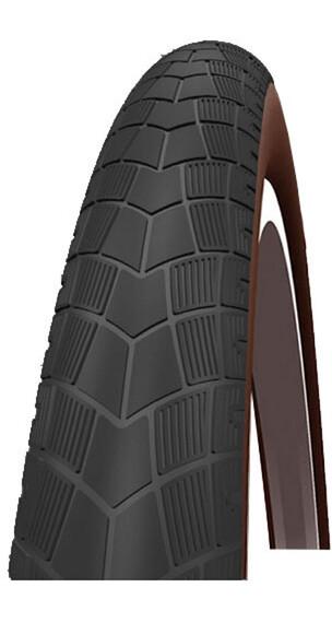 "Impac BigPac PP Fietsband 28"" draadband Reflex bruin/zwart"